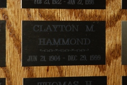 Clayton M. Hammond