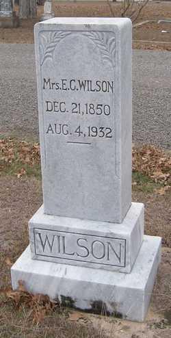 Elizabeth Caroline Callie <i>Crenshaw</i> Wilson