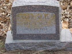 Sarah M. Sadie <i>Whitney King</i> Mull