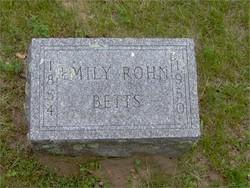 Emily <i>Rohn</i> Betts