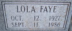 Lola Faye <i>James</i> Perteet