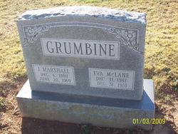 Eva A <i>McLane</i> Grumbine