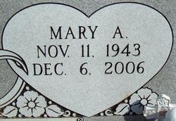 Mary Ann <i>Douglas</i> Perteet