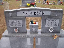 Rachel M <i>Graham</i> Anderson