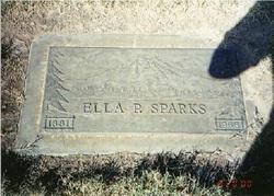 Ella Priscilla <i>Pendergraft</i> Sparks