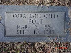 Cora Jane <i>Gill</i> Bolt