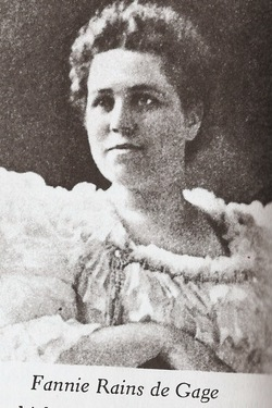 Francisca Victoria Fanny <i>Raines</i> Brassell