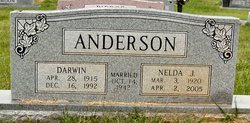 Nelda J <i>Hubbard</i> Anderson