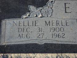 Nellie Merle <i>Fisher</i> Eaton