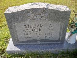 William A. W A Aycock, Sr