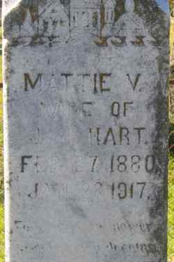 Mattie Vining <i>Burks</i> Hart