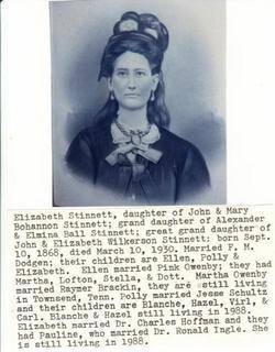 Elizabeth S Dodgen