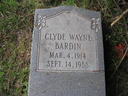 Clyde Wayne Bardin