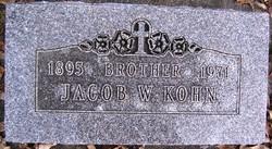 Jacob W Kohn