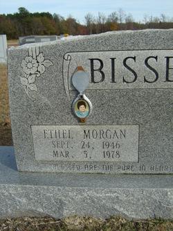 Ethel Virginia <i>Morgan</i> Bissette