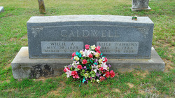 William Anderson Willie Caldwell