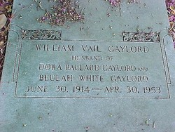 William Vail Wig Gaylord