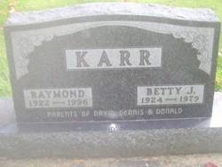 Betty Jane <i>Dowler</i> Karr