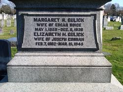 Margaret R <i>Gulick</i> Boice