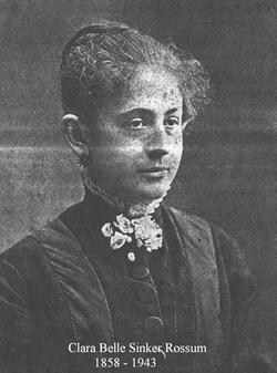 Clara Belle <i>Sinker</i> Rossum