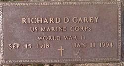 Richard D Carey