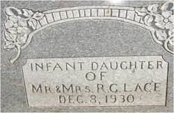 Infant Daughter lace