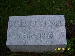Charlotte I. Page