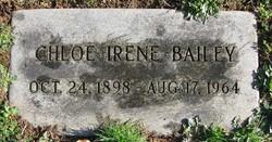 Chloe Irene <i>Wetzel</i> Bailey