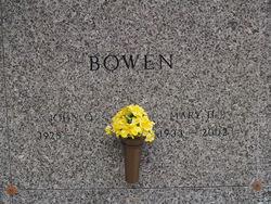 Mary Holton <i>Ellis</i> Bowen