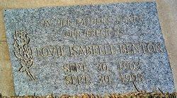 Lovie Isabelle <i>Woods</i> Benton