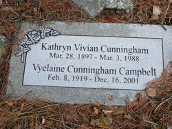 Kathryn Vivian <i>Williams</i> Cunningham