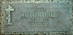 Mary Alice Amanda Jane <i>Ferguson</i> Tharp