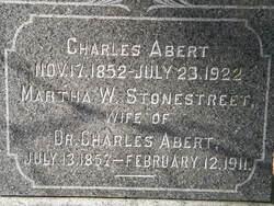 Martha Willson <i>Stonestreet</i> Abert