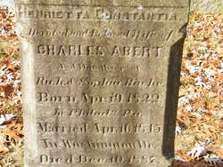 Henrietta Constantia <i>Bache</i> Abert