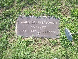 Clarence James Bowser