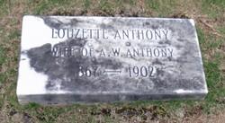 Laura Loucette <i>Jones</i> Anthony