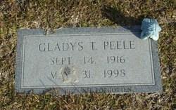 Gladys <i>Turnage</i> Peele