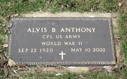 Corp Alvis B. Son Anthony