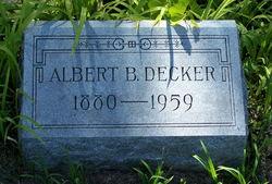 Albert B Decker