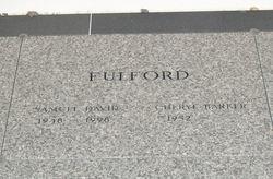 Cheryl Elizabeth <i>Barker</i> Fulford