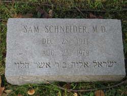 Dr Sam Schneider