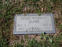 Lillian <i>Anderson</i> DuPre