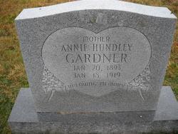 Annie <i>Hundley</i> Gardner