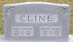 Sarah <i>Rowden</i> Cline