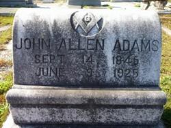 Pvt John Allen Adams