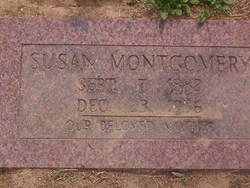 Susan Ellen <i>Barnett</i> Montgomery