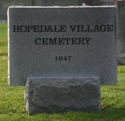 Hopedale Village Cemetery