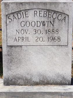 Sadie Rebecca Goodwin