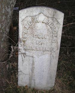 Pvt Isaac H. Arnold