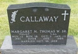 Margaret Martha Peggy <i>Ray</i> Callaway